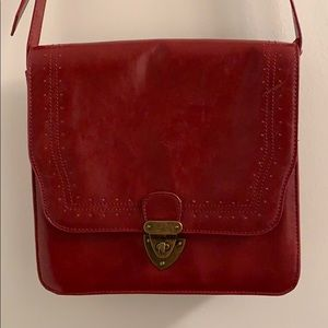 Mossimo Burgundy Vintage-like Crossbody